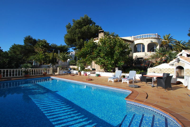Galer a de fotos alquila chalet con piscina privada javea for Casas con piscina privada para vacaciones